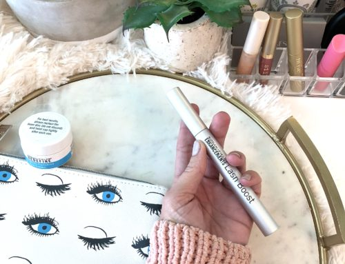 MY SECRET TO AMAZING LASHES = LASH BOOST