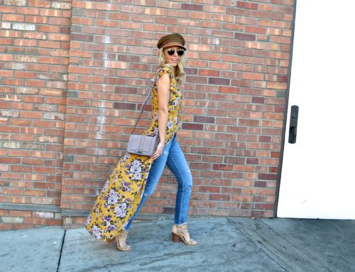 TWO WAYS TO STYLE A MAXI DRESS