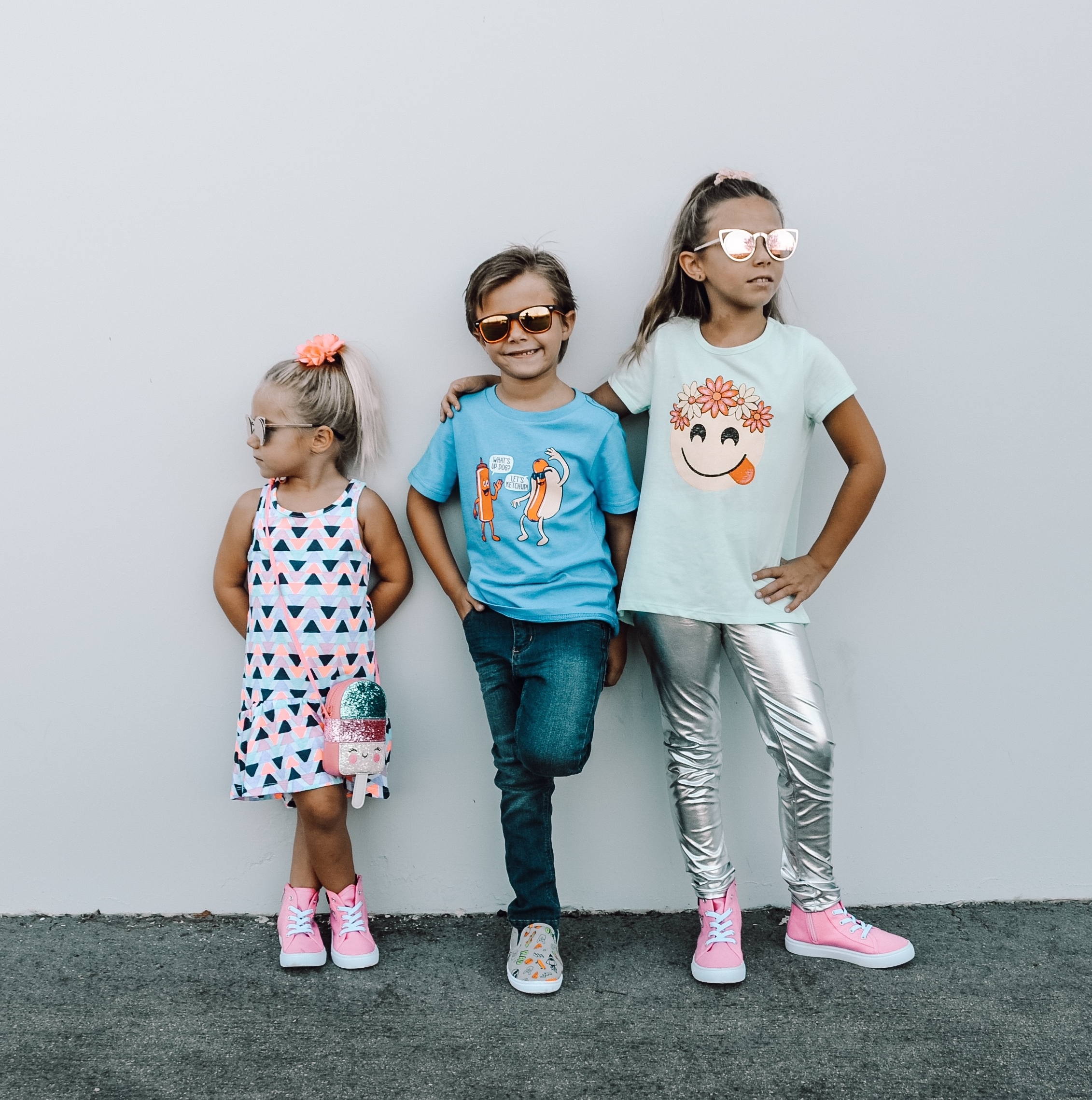 BACK TO SCHOOL WITH FABKIDS- Jaclyn De Leon Style + KID STYLE + HIGH TOPS + SUNGLASSES + KID LIFE + MOM LIFE + GETTING READY FOR SCHOOL + CHILDREN SNEAKERS + DENIM + GRAPHIC TEE + DRESS + EMOJI TOP + KIDS FOR REAL + FALL STYLE + SCHOOL OUTFITS