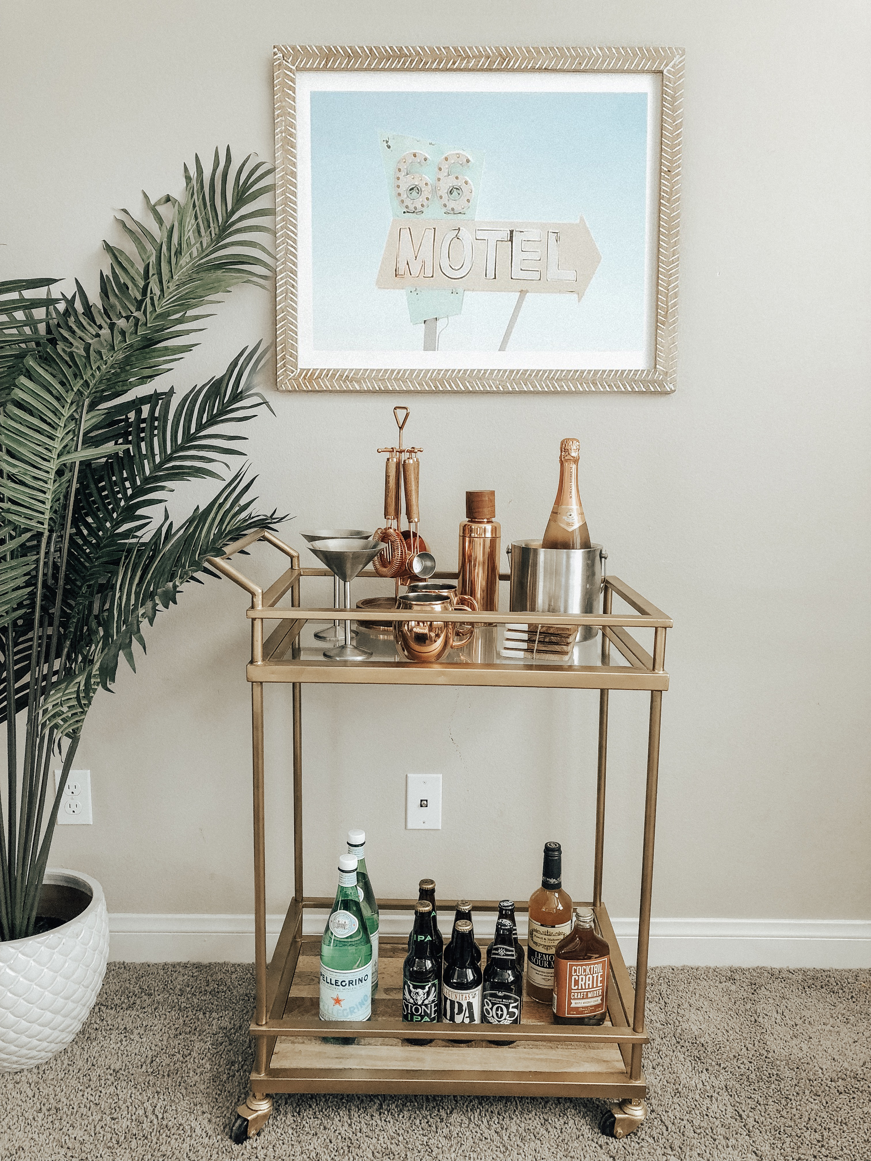 STYLING MY HOME WITH MINTED ART- Jaclyn De Leon Style + Minted art + stylng the home + home decor + wall art + home inspiration + guide to updating your art + art collector + retro style art + interior design + having fun with kids + bar cart