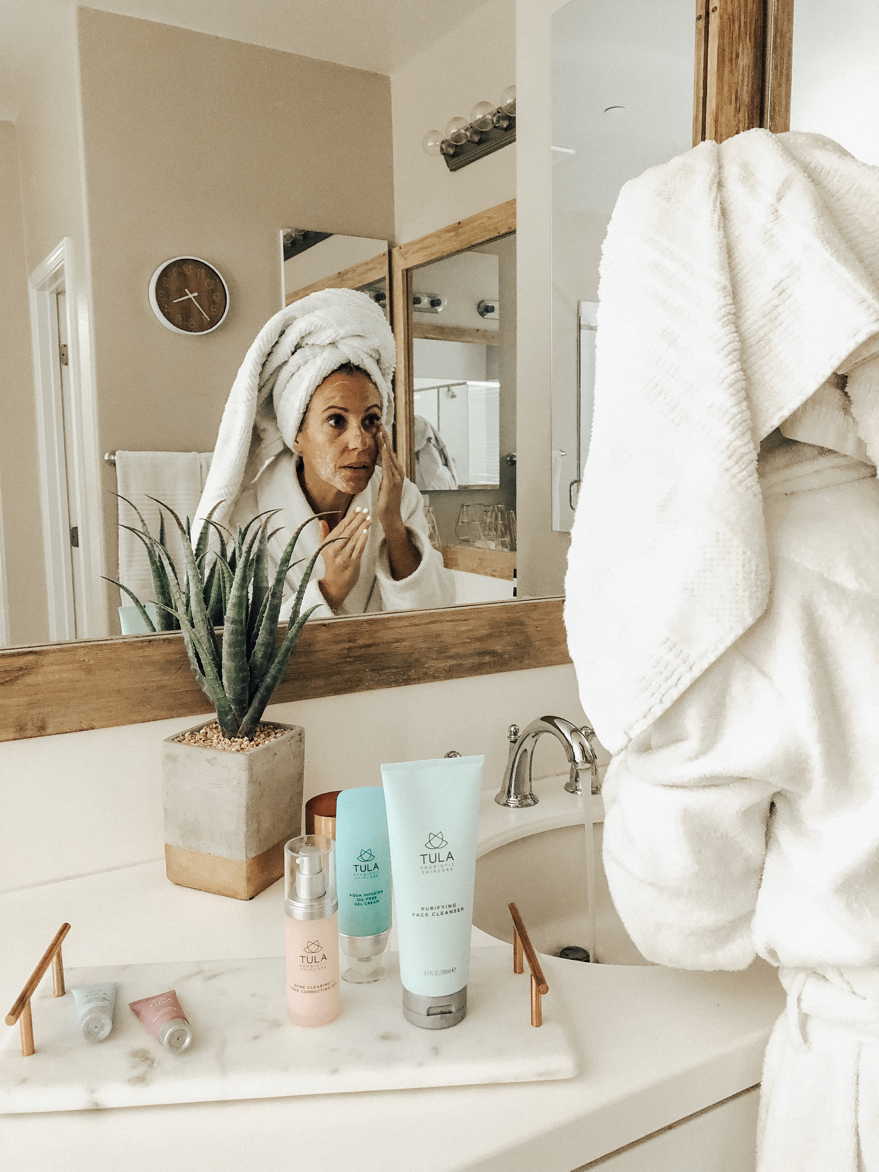 MY SKINCARE ROUTINE WITH TULA- Jaclyn De Leon Style + night time beauty routine + probiotic skincare + acne clearing kit + skin care set + skincare product review + acne regimen + face cleanser + beauty blogger + acne skin treatment routine