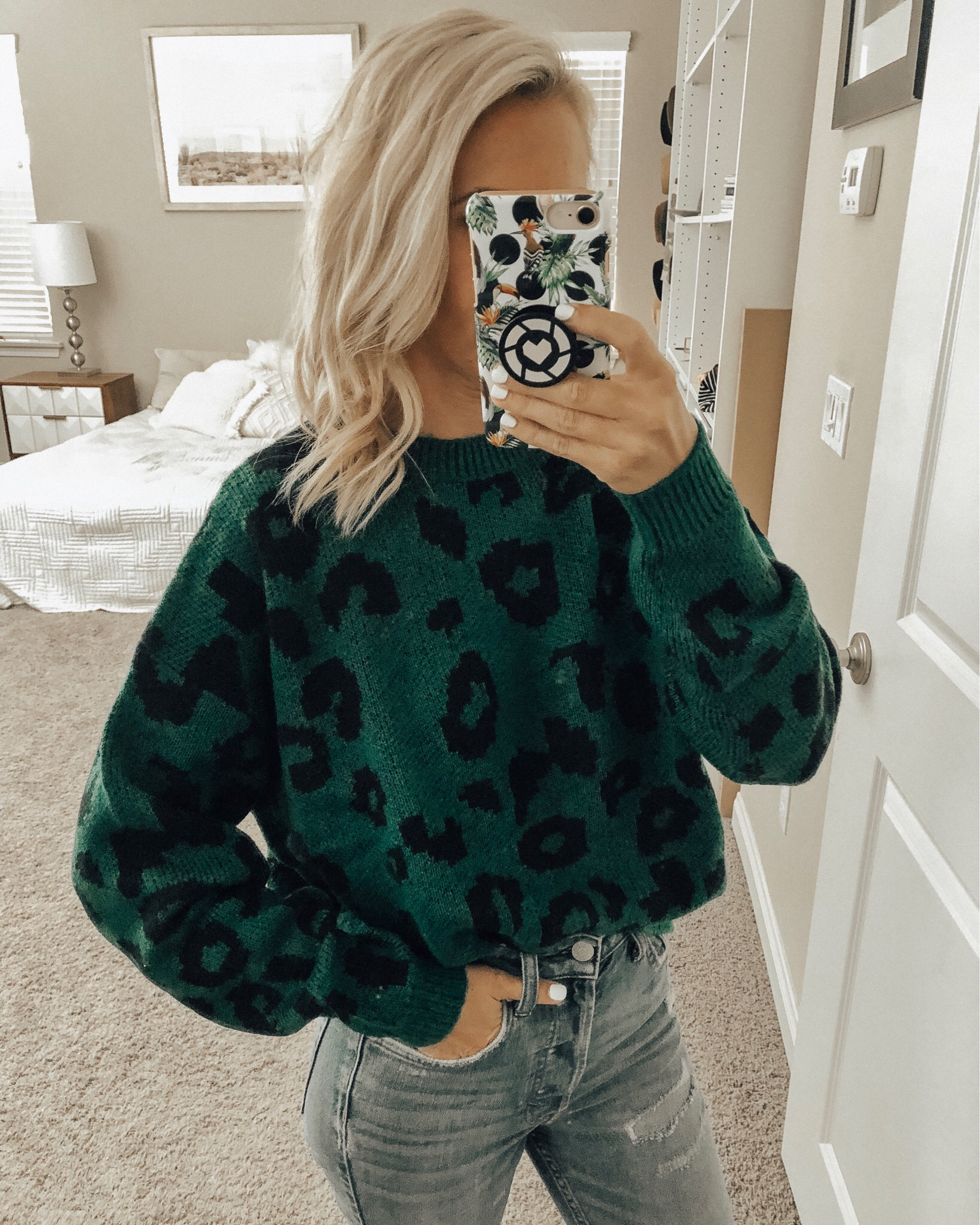 OCTOBER TOP 10- Jaclyn De Leon Style - Fall fashion + top selling items + cozy sweaters + camo leggings + leopard + sweater weather + what to buy this season + color block sweater + chevron