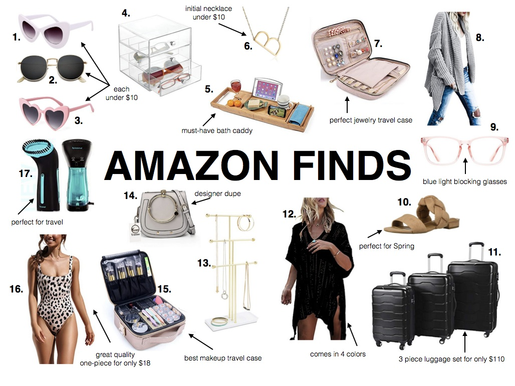 a8fe430b69c AMAZON FINDS- Jaclyn De Leon Style + Must have items from sunglasses and a  jewelry ...