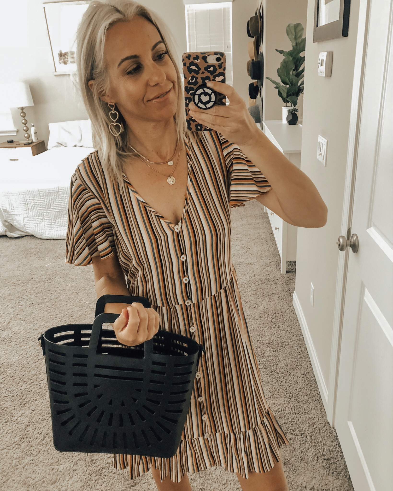 MARCH TOP 10- Jaclyn De Leon Style + My top ten selling items from the month of March are everything from the coziest jumpsuit, jewelry travel case, swim suit cover up, espadrilles and of course the cutest striped dress. Most of the favorites were from Target, Amazon, DSW and Abercrombie!