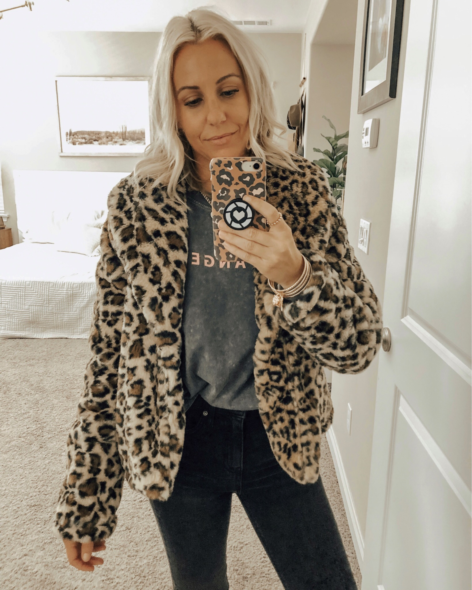 THE COZIEST FAUX FUR JACKETS + COATS- Jaclyn De Leon Style + Sharing the best of faux fur at great affordable price points. Throw it over a graphic tee + jeans or a plaid dress for a dressier look