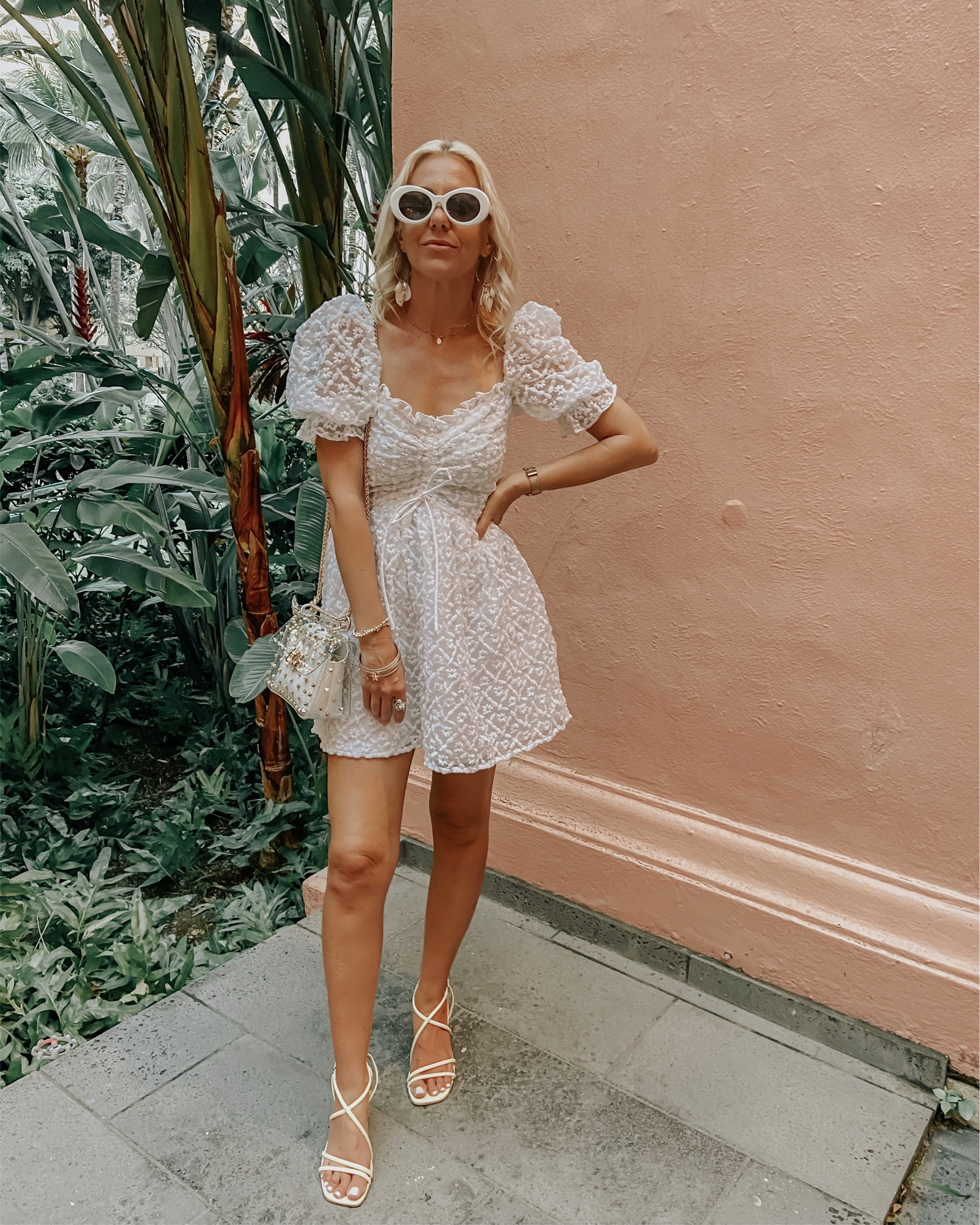 MUST-HAVE WHITE DRESSES FOR SPRING- Jaclyn De Leon Style- If there's one item you need for Spring + Summer it's a cute white dress! I'm rounding up the best white dresses from affordable finds to must have splurges.