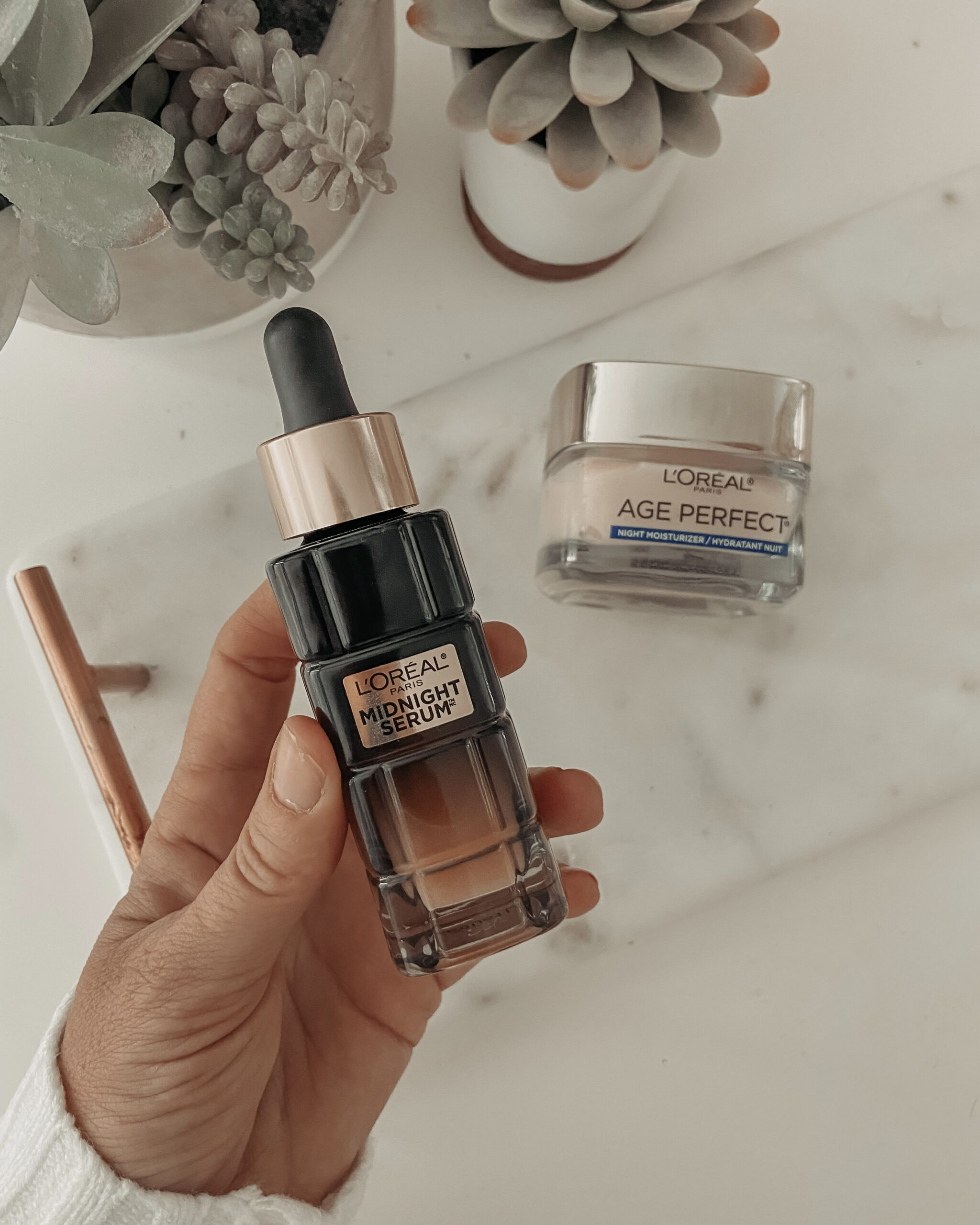 LOREAL MIDNIGHT SERUM: Jaclyn De Leon Style- Sharing the new serum that I added to my nighttime skincare routine and why it has transformed my skin